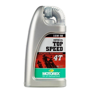 Motorex top speed 4t synthetic 4 stroke oil choose 1 or 4 for Top synthetic motor oil