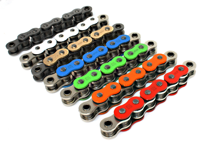 Esjot Coloured Chains 520 Pitch Heavy Duty
