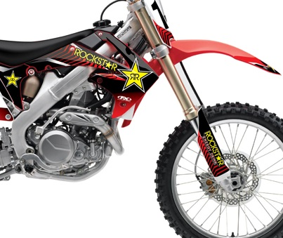 Honda Rockstar Energy Graphics Kits