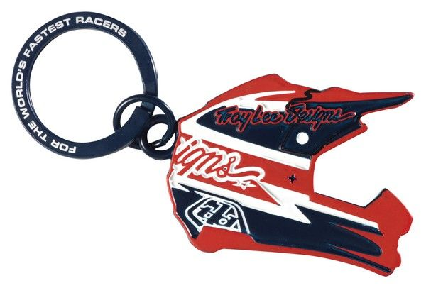 Troy Lee Design Metal Key ring Red